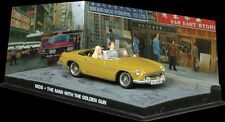 James Bond 007 The Man with the Golden Gun diorama 1:43 scale MGB