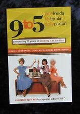 9 to 5 Dolly Parton, Jane Fonda - promo card - 4 x 6 inches - Lot of 2 Cards