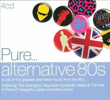 PURE... ALTERNATIVE 80s 4CD NEW Stranglers Adam & The Ants Japan Altered Images