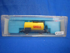 AC612 ATLAS N Ref 2472 WAGON SHELL CITERNE TANK CAR RIV - DB - 072 0 121