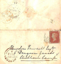 MS2233* 1853 GB Historic Military *CHOBHAM CAMP* Cover 6th Dragoon Guards Surrey