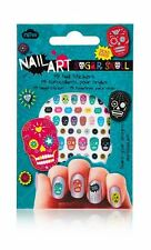 Nail Art Nail Polish Stickers - Sugar Skull - Free 1st Class Delivery