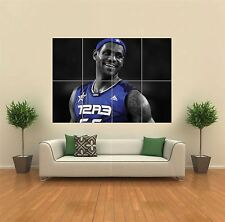 LEBRON JAMES NBA BASKETBALL NEW GIANT LARGE ART PRINT POSTER PICTURE WALL G1184