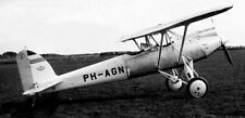 Pander P-1 Two Seats Singe Engined Arcraft Wood Model  Small New