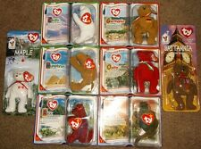 TY BEANIE BABIES- McDONALDS MINIS - Lot of 8, 1999-2000, Ages 3 & up, boys,girls