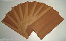 8 Hoja Chapa de madera Orar Marquetería Modelismo bricolaje Carpintero Muebles