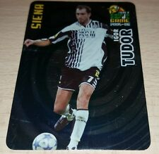 CARD CALCIATORI PANINI 2005-06 SIENA TUDOR CALCIO FOOTBALL SOCCER ALBUM