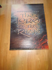 LORD OF THE RINGS 1978 Ralph Bakshi commercial poster 22x30 animation