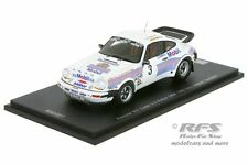 Porsche 930 (911) Turbo - Saarland Rallye 1983 - Manfred Hero - 1:43 Spark