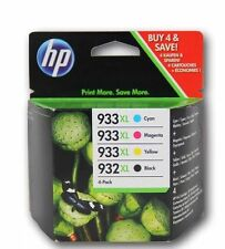 Set of 4 Genuine HP 932XL 933XL Inks OfficeJet 6100,6600,6700 - 3 Day Sale!