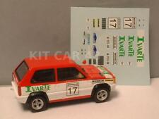 "DECAL CALCA 1/43 SEAT PANDA Gr.2 ""IVARTE"" C. SAINZ RALLY TALAVERA 1982"