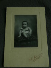 Photo ancienne vintage bébé baby vitry le francois 1910