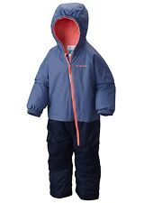 NWT COLUMBIA LITTLE DUDE SUIT BLUEBELL FLORAL WATERPROOF OUTGROWN SNOWSUIT 3T