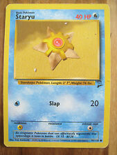 Pokemon Card STARYU 95/130 Common - Base Set 2 - Played to Good