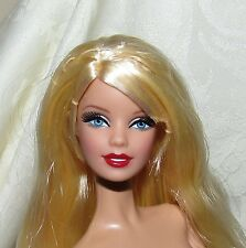 NUDE BARBIE DOLL MODEL MUSE BRITTO CEO BLUE EYES BLONDE HAIR FOR OOAK