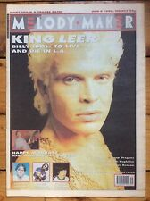 Melody Maker 4/8/90 Billy Idol cover, Manics, Prefab Sprout, Primal Scream