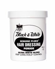 BLACK AND WHITE CERA CAPELLI PLUKO ORIGINALE CAPELLI DRESSING POMADE 200ml