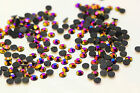 500pcs 4mm Resin Rhinestone Hot fix iron Round flatback Scrapbooking beads C33