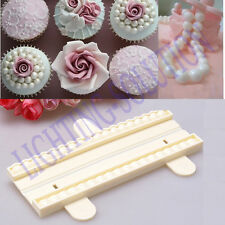 Christmas Sugarcraft Fondant Bead Cutter Cake Decorating DIY Mould Sugarcraft #F