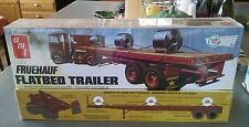 AMT Fruehauf Flatbed Trailer-Sealed. Peterbilt Kenworth
