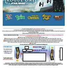 TEN Movie Tickets -{codes}- good til 12/31/17 - good for Disney/Marvel/Star Wars