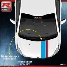 Peugeot Sport 208 207 206 hood sticker decal GTI RC pure tech vti thp hdi 00AT