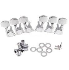 3R 3L Chrome Guitar String Tuning Pegs Tuners Machine Heads D0M2