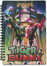 Tiger and Bunny Wild Tiger and Barnaby Spiral Notebook Note Book Anime NEW