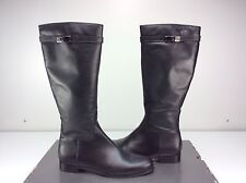 La Canadienne Shaw Black Leather Knee High Boot Size 11