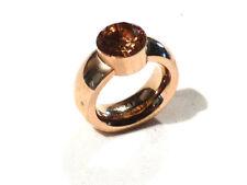 Bijou bague jonc acier cuivré Stainless Steel taille 58 ring