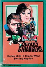 DEADLY STRANGERS 1975 Hayley Mills, Simon Ward Full Screen DVD-r