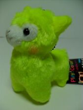 Play Color Arpakasso Neon Yellow Alpaca 12cm Plush Amuse Alpacasso Kawaii Rare