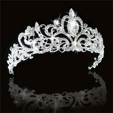 Wedding Bridal Lady Jewelry Princess Crown Stunning Austrian Crystal Hair Tiara