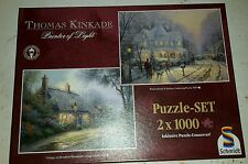 Schmidt Puzzle 2 x 1000 Teile Thomas Kinkade Painter Of Light