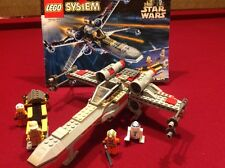Lego 7140 Star Wars X-WING FIGHTER w/Instructions