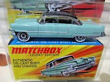 MATCHBOX 2010 LESNEY EDITION SUPERFAST Metal Base 1955 '55 CADILLAC FLEETWOOD Nu