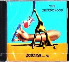 THE GROUNDHOGS- Razors Edge Plus 4 Live CD (NEW & SEALED) 1984 Album Tony McPhee
