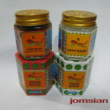 2 X 30g = 60g - 30g Tiger Balm RED/WHITE Muscle Ache Pain Relief from Thailand