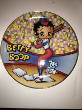 BETTY BOOP Porcelain Collectible Plate SWEETHEART SLUGGER
