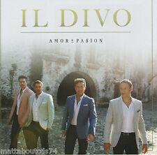 IL DIVO - AMOR & PASION   *NEW 2015 CD ALBUM*