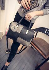Frauen Damen PU Leder handtasche Umhängetasche Handtaschen Schultertasche Tasche