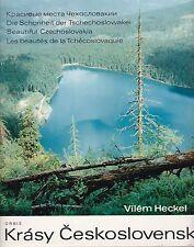 Die Schönheit der Tschechoslowakei von Vilem Heckel, sehr schöner Bilderband