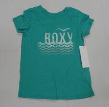 Roxy Kids Sz 5 Shirts Tops Bi Coastel Green