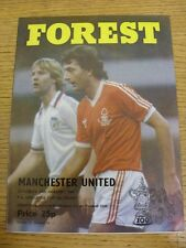 24/01/1981 Nottingham Forest v Manchester United [FA Cup] . Condition: We aspire