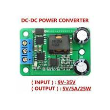 DC-DC step-down Modulo 24v / 12V turn 5V / 5A Alimentatore IN (9-35V) Alternativ