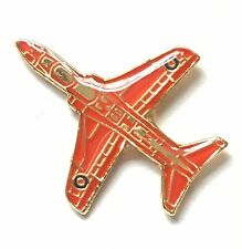 RAF Royal Air Force Red Arrows Aeroplane Pin Badge *Official Product