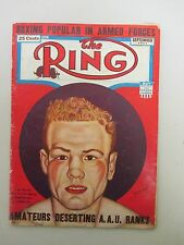 """The Ring"" Vintage Boxing Magazine / September 1942 / Lee Savold"