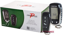 PRESTIGE APS997C 2-WAY CAR ALARM AND REMOTE STARTER NEW MODEL PRESTIGE APS997E