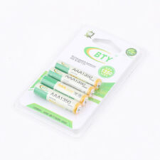 4pcs BTY 1.2V AAA 3A 1350mAh Ni-MH Rechargeable Battery for RC Toys Camera LJ
