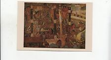 BF30391 a dance scene cave ajanta painting peinture  india  front/back image